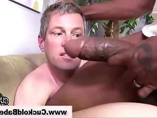 Interracial cuckold slut gets hot being fucked