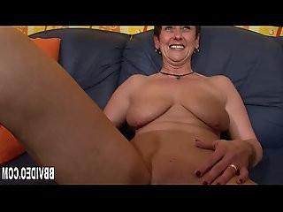 German milf masturbating