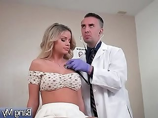 Sex Tape made With Dirty Mind Doctor And Hot Slut Patient Jessa Rhodes
