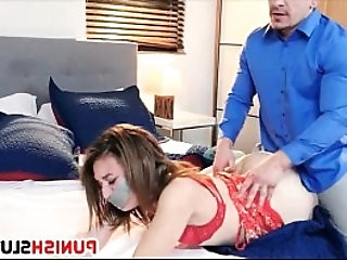 Harley Ann Wolf bound with duct tape and fucked