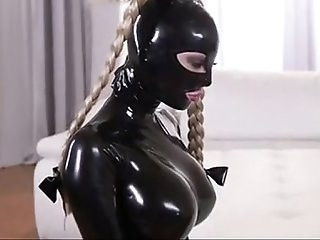 Latex slave lesbian punishment
