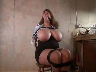 huge tits bdsm bound and tied