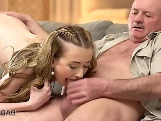 Smoking hot Jessi cheating on her bf with his dad