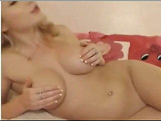 Sexy Blonde Smoking on Cam cigarettes