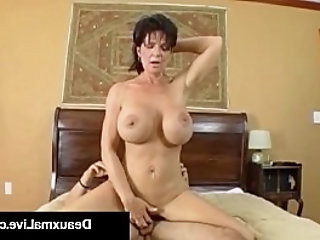 Texas Cougar Deauxma Gets Nice and Hard Juicy Wet Ass Pounding!