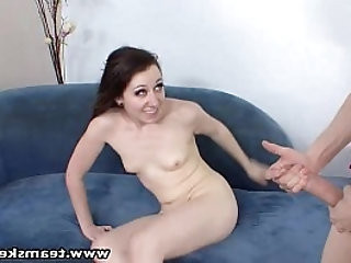 TeamSkeet Girlfriend Dakota Charms gets her pink pussy fucked on cam
