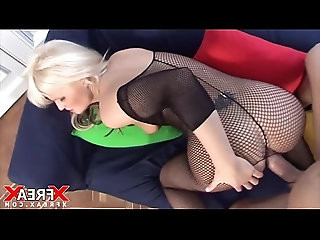 Great Anal with blonde