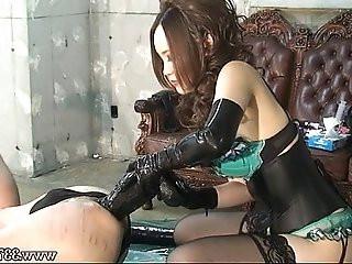 Japanese Dominatrix Anal Dildo