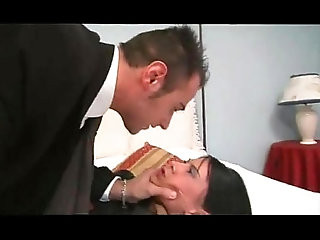 Mob Wife Fucked by Servant Boy