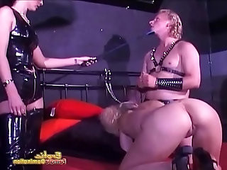 Misled Slave Gets Excited During Training Session