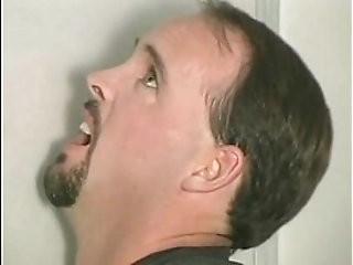 Gloryhole Hostage stealing his cum