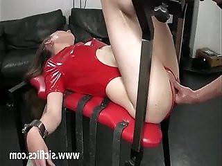 Teen slut fisted in her flaccid vagina