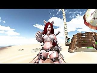 Katarina League Of Legends 3D Game POV