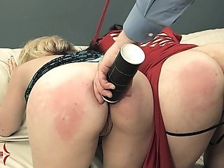 Nasty whore feeds on secret professional bitchs ass