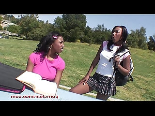 Ebony Girls Have Pussy Licking Good Time